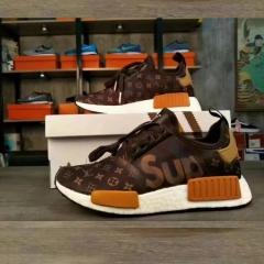 DESCHAMPS fashion sport men's shoes wear wear - resistant classic embroidered shoes brown 39