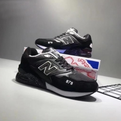 Affordable 878 men and women sneaker pictures of good quality flats black 39