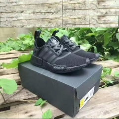 Add size sneaker boy handsome NMD breath black samurai 3M leisure shoes black 39