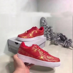 The latest fashion sneaker in 2017 is a good luck red couple can wear red 40