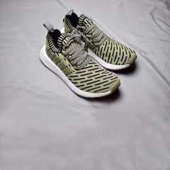 Paris trendy men's sneaker size NMD R2 green wears cool flat running shoes green 40