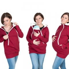 Maternity coat sizes a variety of color back baby coat good mother choice red S