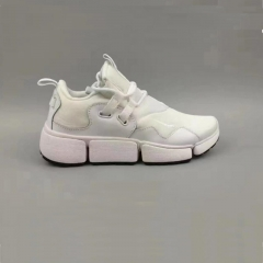 Stylish men and women athletic shoes MD + RB breathable and comfortable any collocation white 40