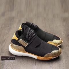 Male sports shoes high help Y3 Qasa High black warrior exclusive real female sports shoes black 39