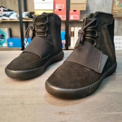 High quality men's sports shoes are also wearing shoes Yeezy Boost 750 flat fashion brown 40