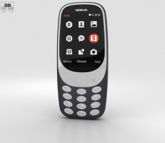 NOKIA 3310 2017 Dual SIM 2MP Camera Special Offer Retro Fantastic Phone black