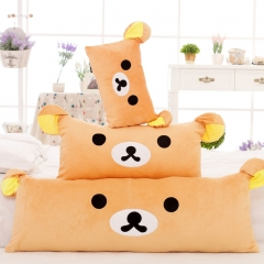 Rilakkuma Bear Pillow Stuffed Soft Plush Cartoon Cushion Toys brown 45cm