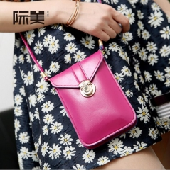 2017 Women Mini Bag Single Shoulder  Messenger Bag 10 Style purple 0.17kg