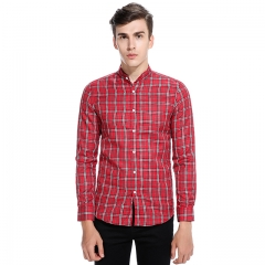 Men's Henry Leader Long Sleeve Shirt red s