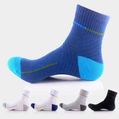 10 Pair Autumn Men Outdoor Sport Athletic Running Socks Basketball Hiking Mountain Climbing Socks mixed colors one size one size