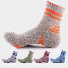 10 Pairs Men Outdoor Sports Athletic Running Socks Hiking Mountain Climbing Crew Socks Cotton mixed colors one size one size