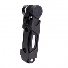Bicycle Lock Alloy Steel Foldable Chain Lock Anti-theft Security Motorcycle Cycling Folding Lock black
