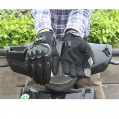 Motorcycle Gloves Racing Gloves Motorbike Gloves Protective Guantes Touch Screen Cycling Gloves BLACK M