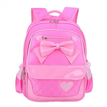Grade 1-3 Kids Girls Backpacks for Primary School Children Girls School Bags Satchels Book Bag pink
