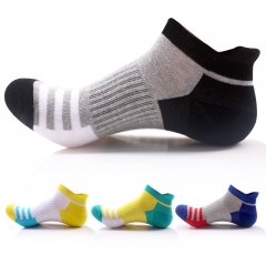 10 Pairs Men Low Cut Sport Running Athletic Socks Cotton Hiking Mountain Climbing Ankle Socks mixed colors one size one size