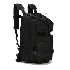 600D Oxford Outdoor Military Tactical Backpack Camouflage Trekking Hiking Camping Rucksack Bag BLACK one size