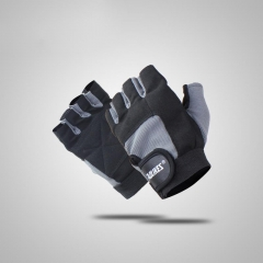 Weight Lifting Gym Sports Gloves Fitness Exercise Training Protect Wrist Weightlifting Gloves GREY M