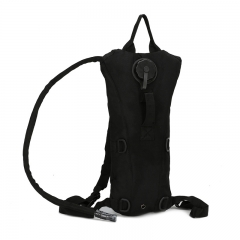 3L Water Bag Military Tactical Hydration Backpack Outdoor Waterproof Camel Water Bag Cycling BLACK one size