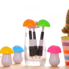 G2G-0.7mm Blue ink Cute candy mushroom ball point pen Mini creative stationery student prizes