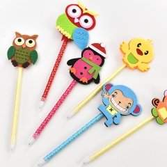 G2G-0.38mm Blue ink Cute animal pen Study office stationery wholesale as picture 1
