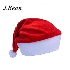 J.Bean Christmas Gift Cap High-Grade Gold Velvet Adult Children's Universal Christmas Hat One Color Style 01
