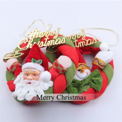 J.Bean Christmas Decorations Christmas Tree Pendant Ornaments Christmas Fabric Wreaths One Color Style 01