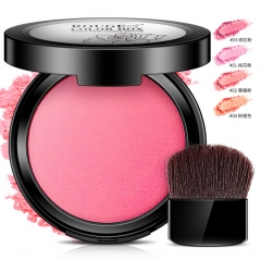 Blush nude makeup beauty powder lasting natural brightening skin color makeup #01