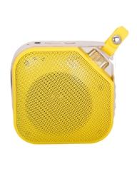 Bannixing bluetooth speaker, Grade AAA yellow 3w 978
