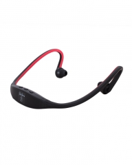 JayJero J1 bluetooth headphones. red