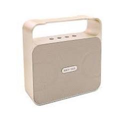 NBY powerful 10w bluetooth speaker. gold 10w 360