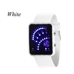 Sharer New Sports / Smart Fan / Student / Animation Watch / Watch LED / Men And Women Watches White One Size