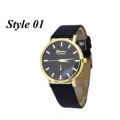 Sharer Fashion European Golden Dot Casual Ladies Watch Style 01 One Size