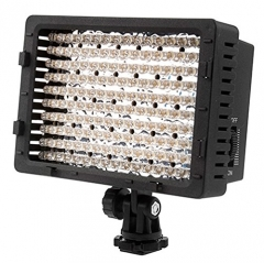 Neewer CN-160 LED Video Light for Camera DV Camcorder Lighting black 3.15x6.7x16.2 inches