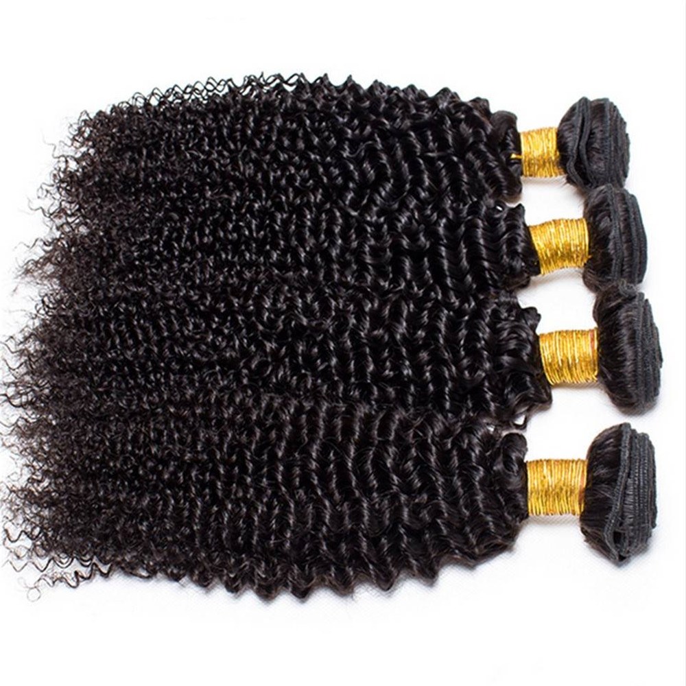 Kilimall Peruvian Kinky Curly Hair Bundles Virgin Human Hair