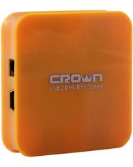 CROWN USB 2.0 HUB ORANGE (CMCR 009o)