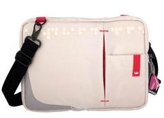 "CROWN LAPTOP SLEEVE BAG GENUINE SIZE 10.2"" (White) (SBG4410W)"