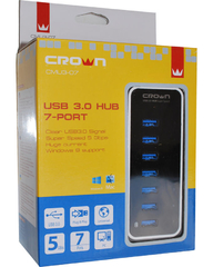 CROWN USB HUB ALL-IN-ONE 3.0 CARD READER (CMCR-015)