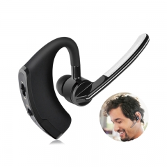Business Bluetooth Headset Stereo Headphone Voice Control Handsfree Sport Office Music Headsets Black normal