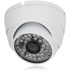 Wide angle CCTV 3.6mm 1300TVL HD Color Dome Home CCTV Security Camera IR-Cut PAL white one size