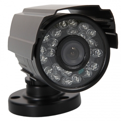 1300TVL HD 3.6mm Lens IR-CUT Night Vision Outdoor CCTV Surveillance Camera PAL black one size