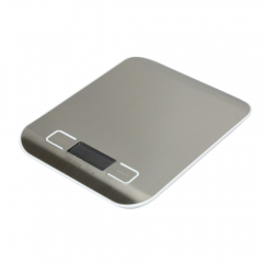 Mini LCD Electronic Digital Kitchen weight Scale 5KG/11lb white one size
