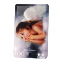Rechargeable 2GB Little Angel Holding Jaw Credit Card Shape MP3 Player as picture
