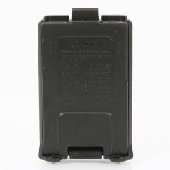 Portable PC Battery Box for Baofeng UV5R Walkie Talkie and More Black