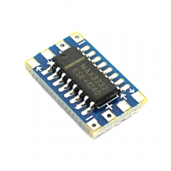 Mini RS232 MAX3232 Level Turn to TTL Level Converter Board Serial Port
