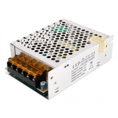 Universal 110-220V 24V 3A 72W DC Regulated Switching Power Supply LED Strip