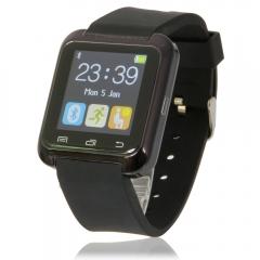 U8 New Stylish Touch Screen Bluetooth Smart Watch 3 Colors black one size