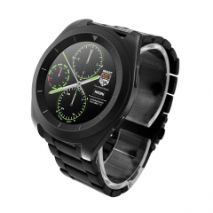G6 Sport Tracker Watch Smart Bluetooth Watch for Android iOS Steel Band 2 Colors U Pick black one size
