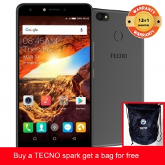 TECNO Spark K7 get a bag for free ,16+1GB, 13+5MP, 5.5 Inch, Hios 2.1, 3000mAh, Smartphone Black