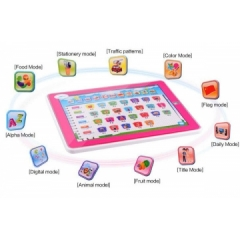 KIDS-11 in 1 Multi function Touch Learning Machine, Ypad Teaching Educational Toys Blue Normal