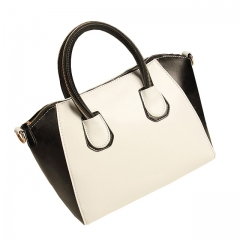 Toofn Handbag Women's Fashion Design PU Leather Handbags White F